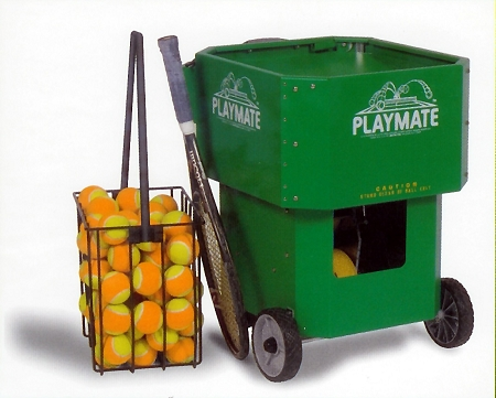 playmate tennis machine