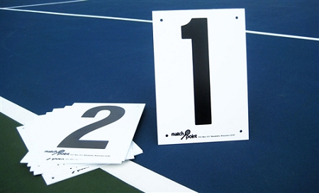 Match Point Court Numbers