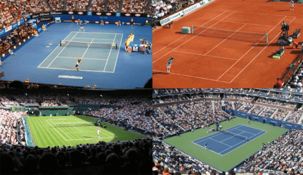 Tennis Court Surface Types