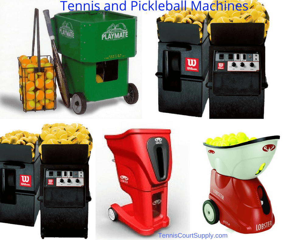 Tennis and Pickleball Machines