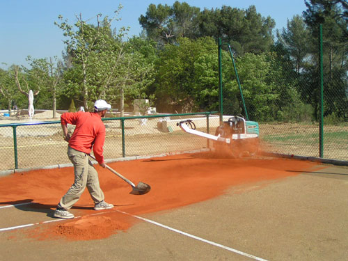 Building a Clay Tennis Court