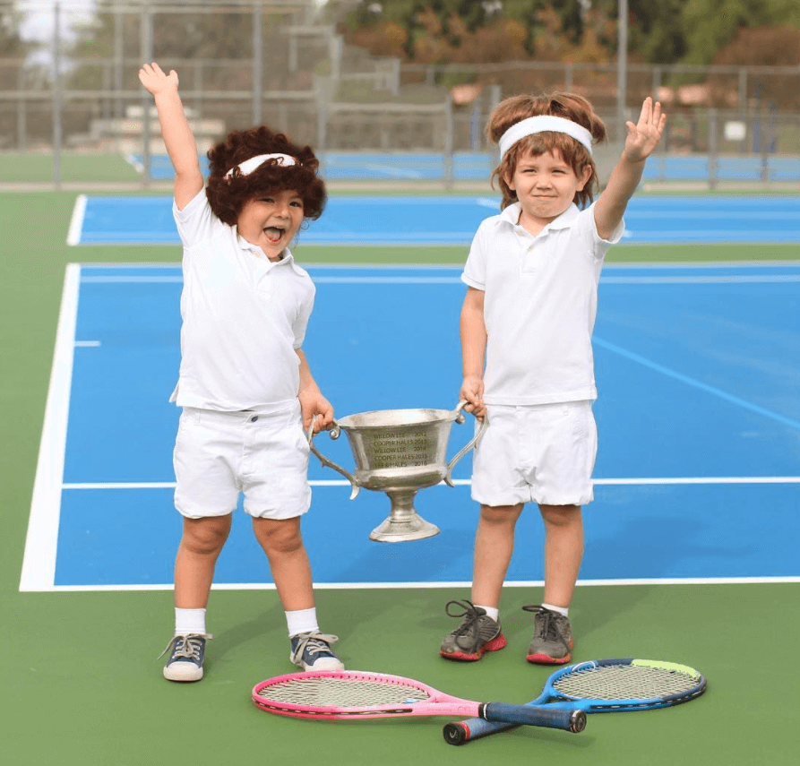 Tennis Court Equipment For Teaching Kids To Play