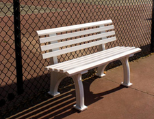 4 ft. Tennis Benches