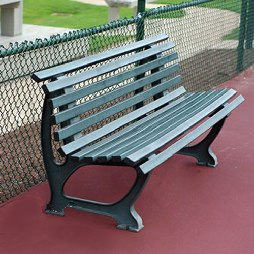 5 39 Deluxe Courtside Tennis Bench