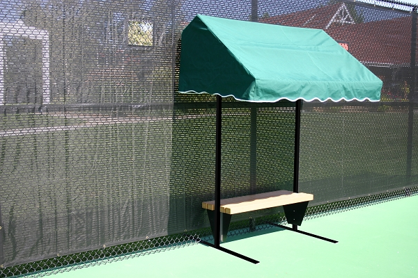 8' Modified Cabana W/Bench