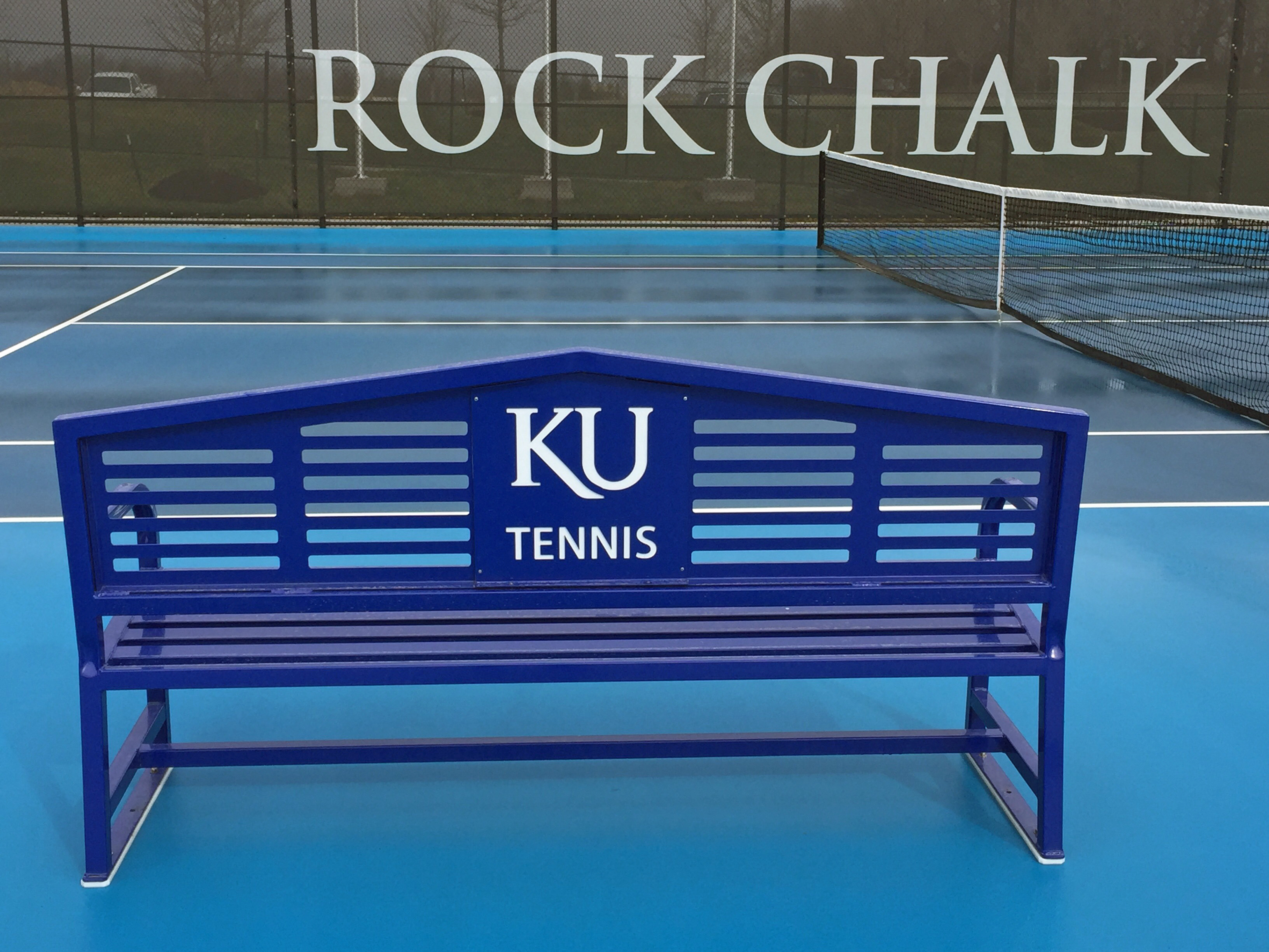 Apex Logo Tennis Bench 6
