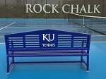 Apex Logo Tennis Bench 8'