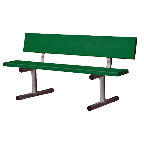 5' Court-Side Aluminum Bench