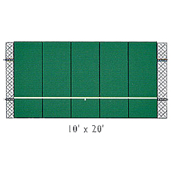 Bakko Professional Flat Series Backboard (10 X 20)