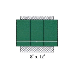 Bakko Economy Flat Series Backboard Panel 8 X 4 w/ 2x4's & Hardware
