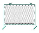 Outdoor Fence Mounted Rebounder Net