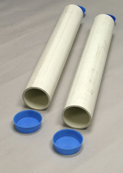 Douglas Pvc 24 Quot Ground Sleeves For 2 7 8 Quot Round Posts Pair