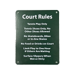 Court Rules Sign