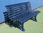 Deluxe 5ft Courtsider Tennis Court Bench