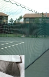 Tennis Court Divider Netting 10 X 60 W/VCP Kick-Plate