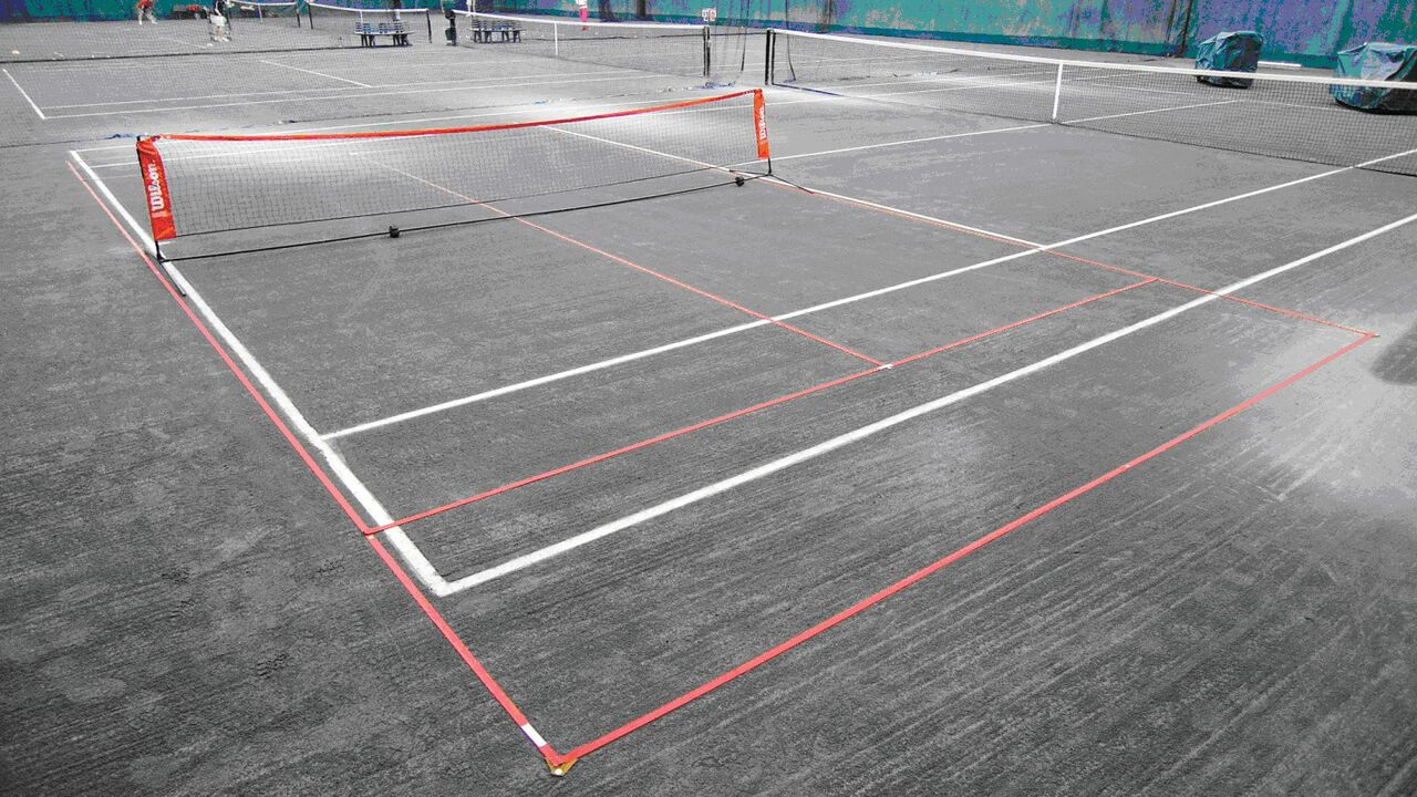 10 & Under Tennis Lines For Clay Courts 36' Length
