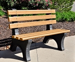 4' Central Park Bench