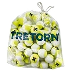 Tretorn Micro-X Tennis Balls (Yellow/White)