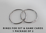 Match Point Game and Set Rings