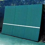 REAListic Straight-Tilt Tennis Backboard  8' X 12'