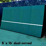 REAListic Dual-Curved Tennis Backboard 8' X 16'