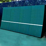 REAListic Straight-Tilt Tennis Backboard    8' X 16'