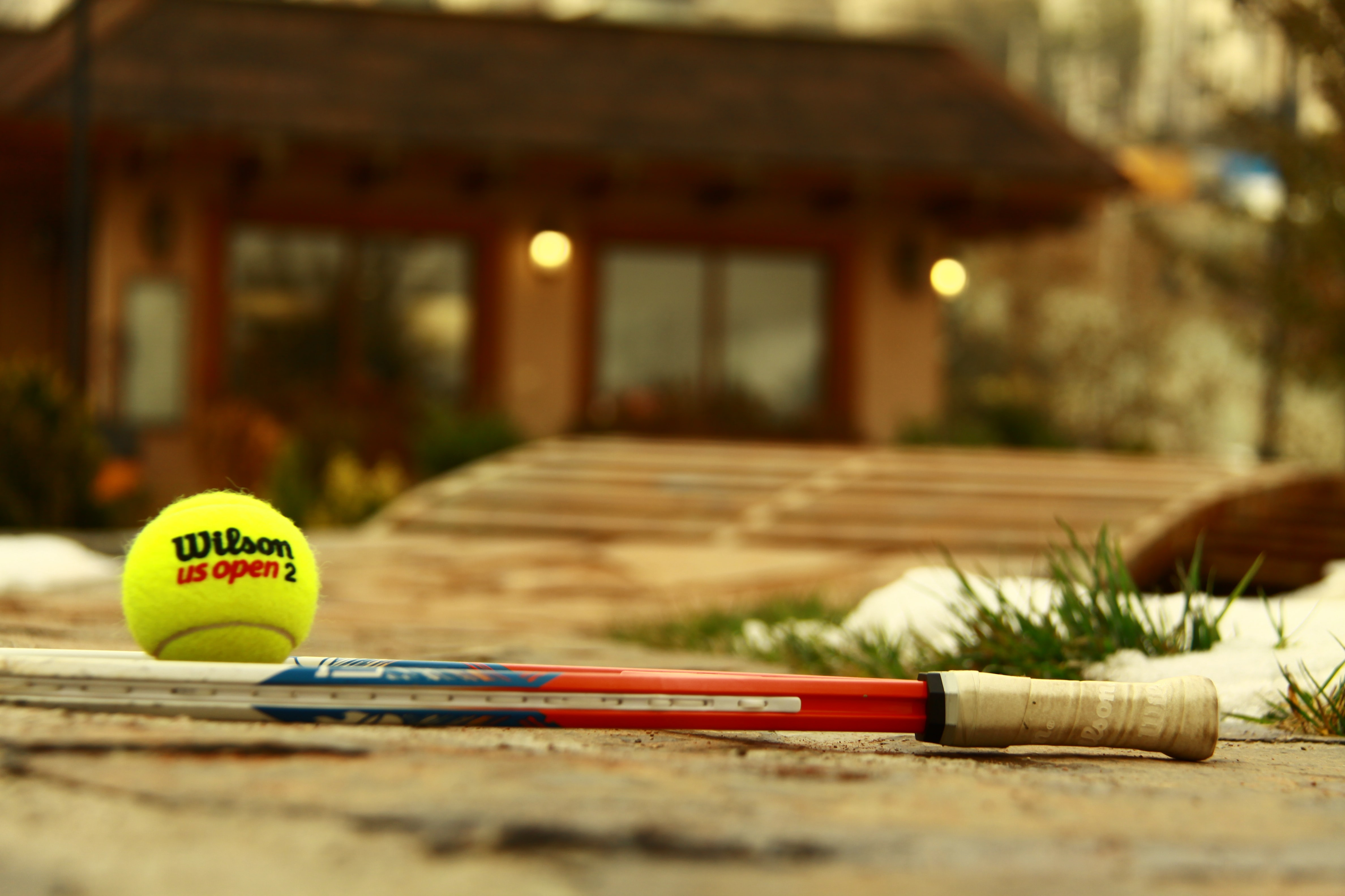 Tennis balls vs the court: picking the right ball