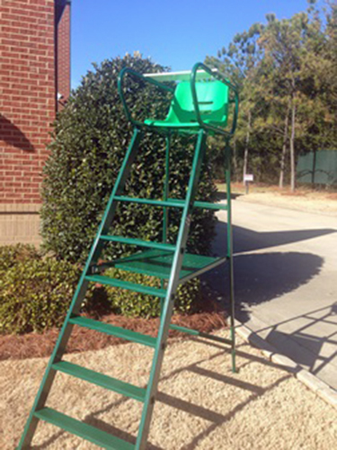 Umpire Chair Royal Deluxe Green