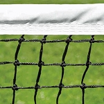 Putterman 3.0mm Tournament Tapered Tennis Net