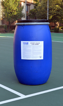TCS Court Color with Sand 30-Gal Keg