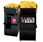 Wilson Portable Tennis Ball Machine w/Remote & 2-Line Feature