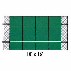Bakko Professional Flat Series Tennis Backboard (10 X 16)