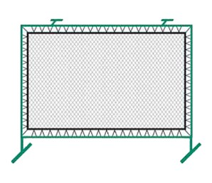 Bakko Outdoor Fence Mounted Rebounder Net