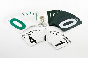 Tennis Post Score Keeper Replacement Cards