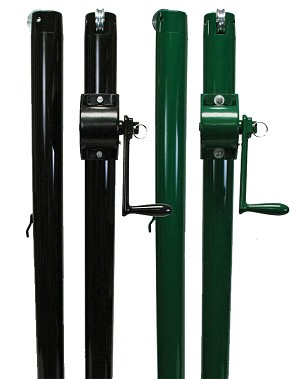 "Douglas 2-7/8"" E-Z Pickleball Net Posts"