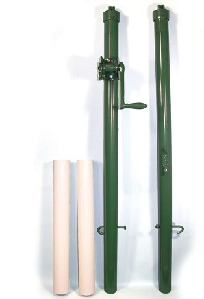 Courtmaster Paddle Posts w/Sleeves