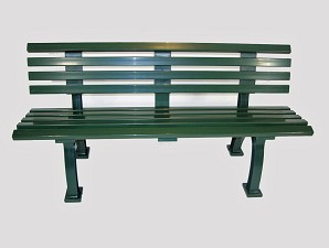 5' Courtside Tennis Bench