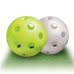 Dura Big Hole Indoor Pickleball (72 Balls)