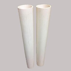 "Putterman PVC 24"" Ground Sleeves For 3"" Round Posts"