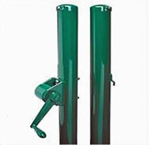 "Putterman 2-7/8"" Green Round 8 & Under Net Posts"