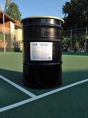 TCS Court Color with Sand 55-Gal Drum